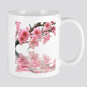 Flowers Water Reflection Mug
